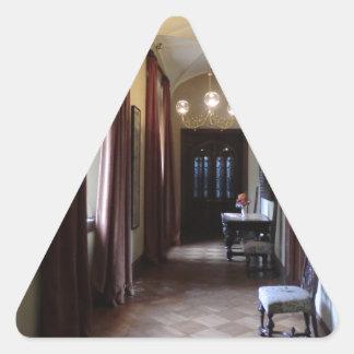 Chirk Castle Corridor Triangle Sticker