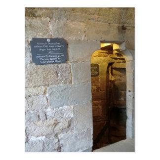 Chirk Castle Dungeon Entrance Postcard