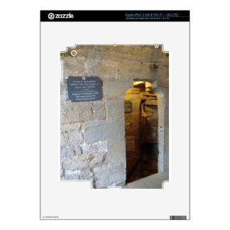 Chirk Castle Dungeon Entrance iPad 3 Decal