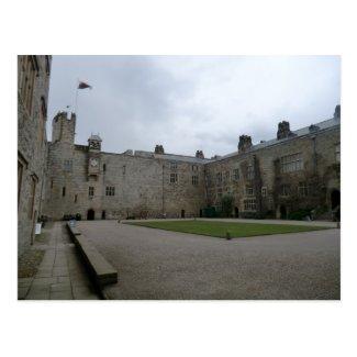 Chirk Castle Inner Courtyard Postcard
