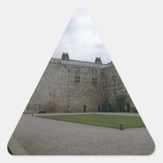 Chirk Castle Inner Courtyard Triangle Sticker