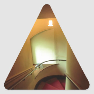 Chirk Castle Staircase Triangle Sticker