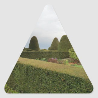 Chirk Castle Topiary Triangle Sticker