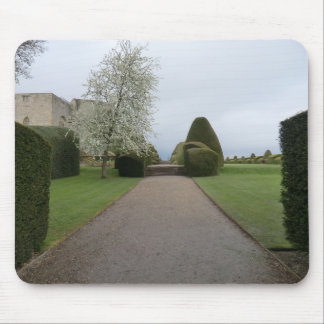 Chirk Castle Walkway Mouse Pads