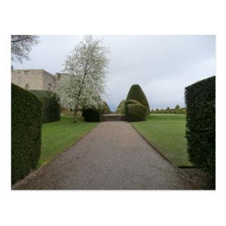 Chirk Castle Walkway Postcard