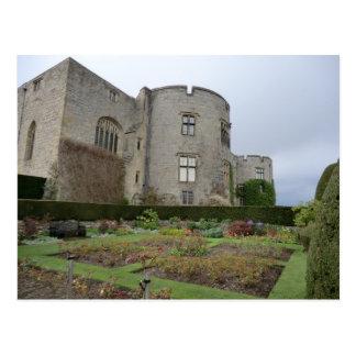 Chirk el castillo en Wrexham, País de Gales Postales