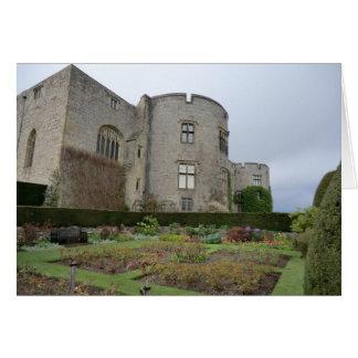 Chirk el castillo en Wrexham, País de Gales Tarjeta De Felicitación