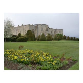 Chirk el castillo y los jardines tarjetas postales