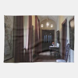 Chirk el pasillo del castillo toallas