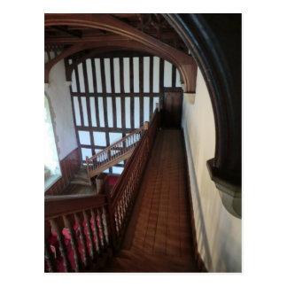 Chirk la capilla del castillo tarjeta postal
