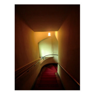 Chirk la escalera del castillo postales