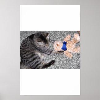 """""""Chiro-Cat"""" Poster"""