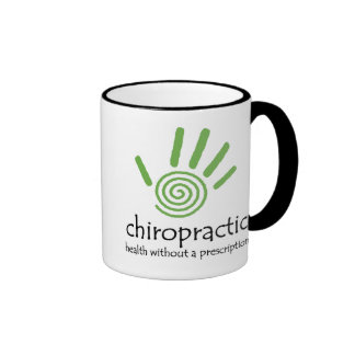 Chiro Health Without Rx Ringer Coffee Mug