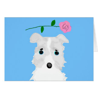Chiro the dog Jack russell terrier Greeting Card