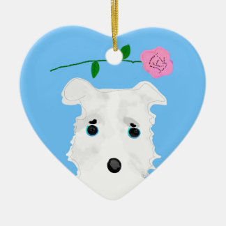 Chiro the DOG Jack russell terrier Ceramic Ornament