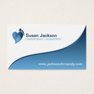 Chiropodist Business Card
