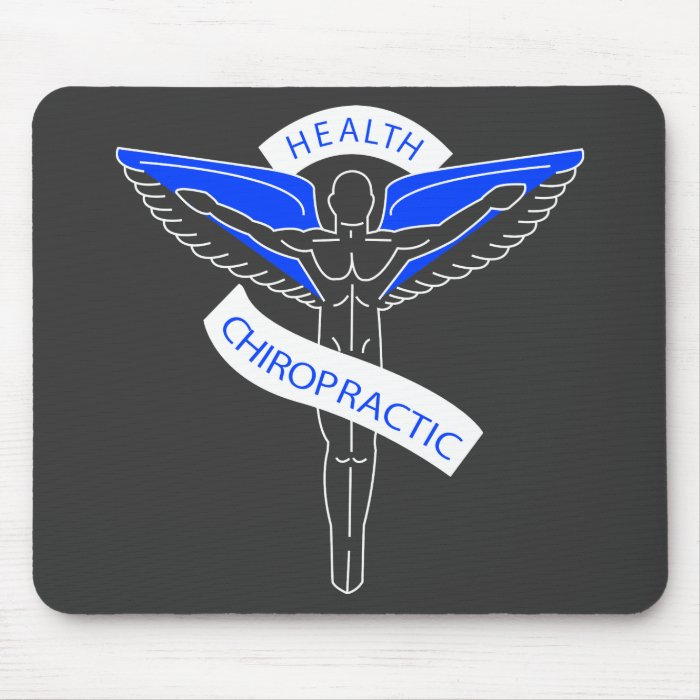 Chiropractic2 for drk mouse pad
