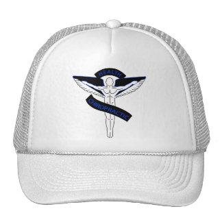 Chiropractic2blue Trucker Hat