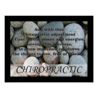 Chiropractic Adjustments Quotes Sayings Poster
