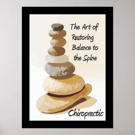 Chiropractic Art of Restoring Balance Poster