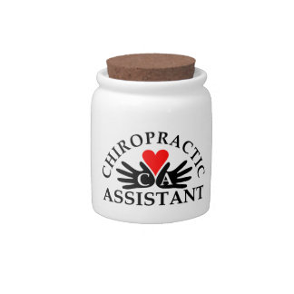 Chiropractic Assistant Candy Jar
