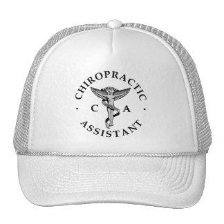 Chiropractic Assistant Logo Hat