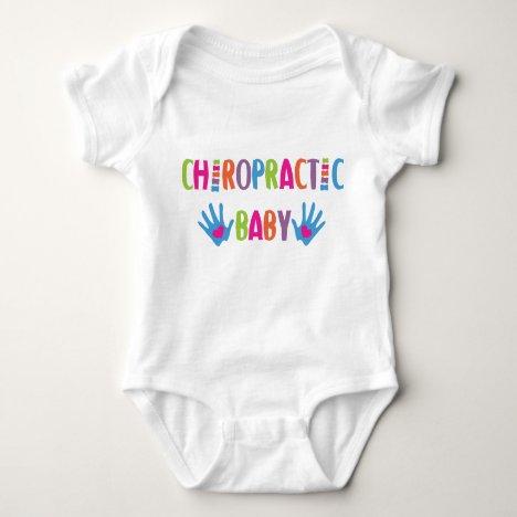 Chiropractic Baby Hands Baby Bodysuit