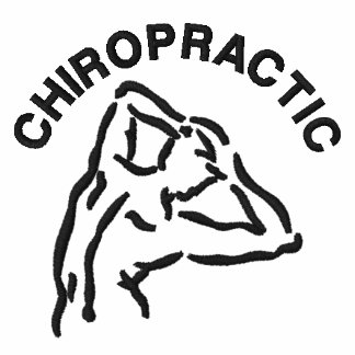 Chiropractic Back Logo Embroidered Polo