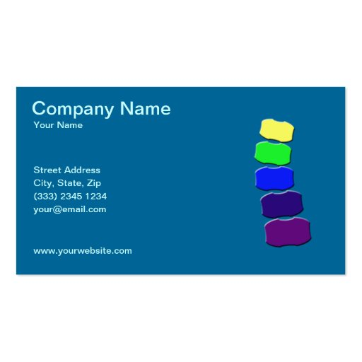Chiropractic business card