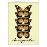 Chiropractic Butterflies Card