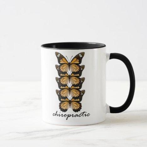 Chiropractic Butterflies Mug