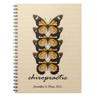 Chiropractic Butterflies Notebook
