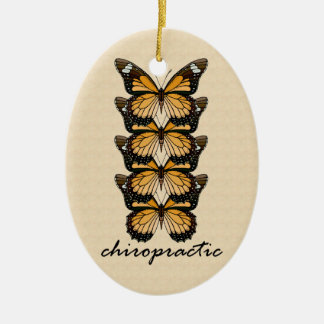 Chiropractic Butterflies Ornament