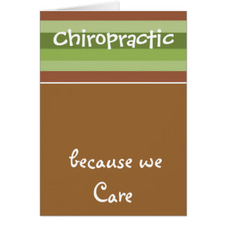 Chiropractic Care Card