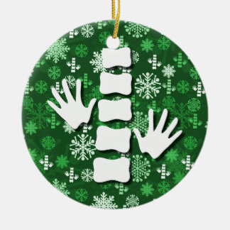 Chiropractic Christmas Ornament