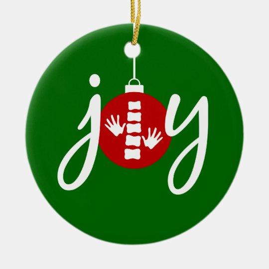 Chiropractic Christmas Ornament - Chiropractic Christmas Ornament Zazzle.com