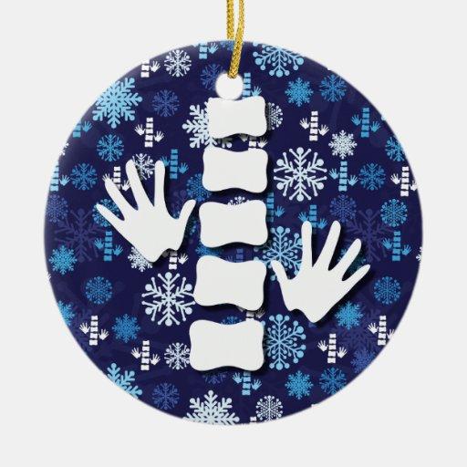 Chiropractic Christmas Ornament