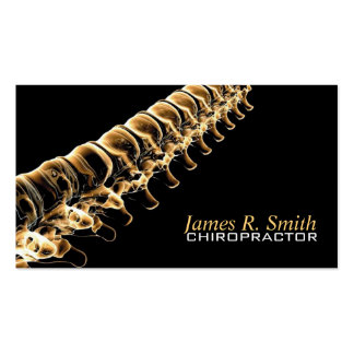 Chiropractic Clinic Health Awareness Business Business Cards