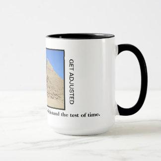 Chiropractic Coffee Mug - Great Pyramids of Giza
