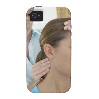 Chiropractic examination of the neck. The iPhone 4/4S Covers