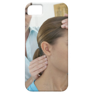 Chiropractic examination of the neck. The iPhone 5 Covers