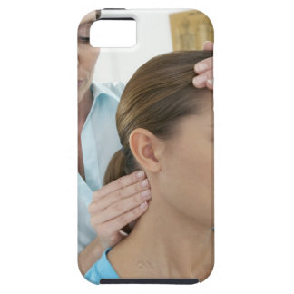 Chiropractic examination of the neck. The iPhone 5 Case