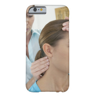 Chiropractic examination of the neck. The Barely There iPhone 6 Case