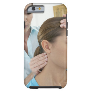 Chiropractic examination of the neck. The Tough iPhone 6 Case