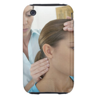 Chiropractic examination of the neck. The iPhone 3 Tough Case
