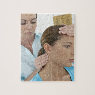 Chiropractic examination of the neck. The Jigsaw Puzzle