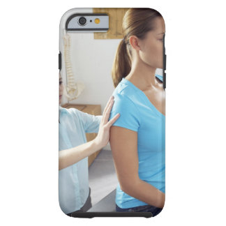 Chiropractic examination of the thoracic spine. tough iPhone 6 case