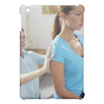 Chiropractic examination of the thoracic spine. iPad mini cover