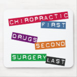 Chiropractic First Mousepad