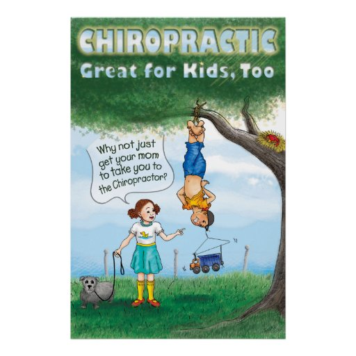 Chiropractic for Kids Poster